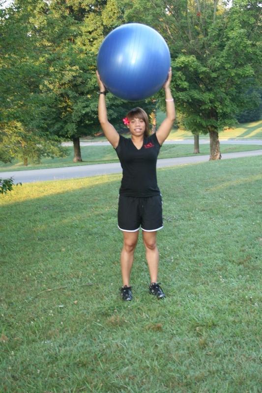 Overhead Ball Raise - Finish